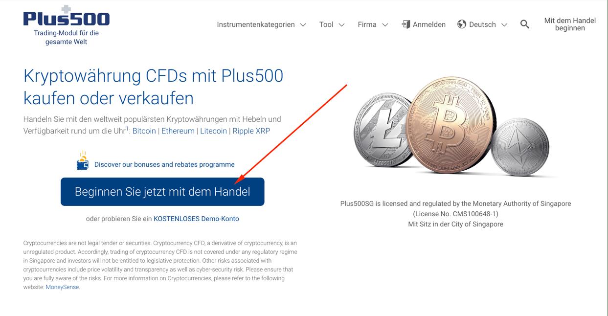 plus500 bitcoins kaufen leister